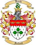 Leech Family Coat of Arms from Ireland2
