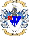 Leech Family Coat of Arms from Ireland