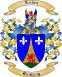 Leeden Family Coat of Arms from Germany