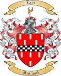 Lees Family Crest from Scotland