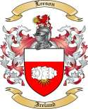 Leeson Family Coat of Arms from Ireland