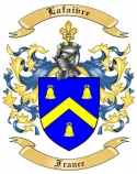 Lefevre Family Coat of Arms from France