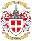 Legg Family Crest from England