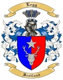 Legg Family Crest from Scotland