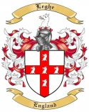 Leghe Family Crest from England2