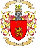 Leghe Family Crest from Ireland
