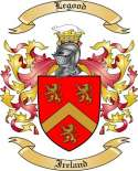 Legood Family Coat of Arms from Ireland