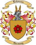 Lehmann Family Crest from Germany