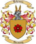 Lehrman Family Coat of Arms from Germany