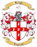 Leigh Family Coat of Arms from England2