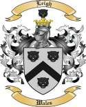 Leigh Family Coat of Arms from Wales