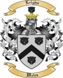 Leighs Family Coat of Arms from Wales