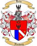 Lein Family Coat of Arms from Norway