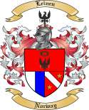 Leinen Family Crest from Norway