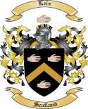 Leis Family Crest from Scotland