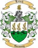 Leisch Family Coat of Arms from Germany