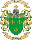 Leite Family Crest from Portugal