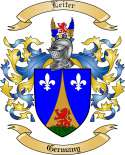 Leiter Family Coat of Arms from Germany