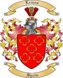 Lemos Family Coat of Arms from Spain
