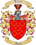 Lemus Family Crest from Spain