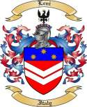 Leni Family Coat of Arms from Italy
