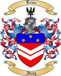 Leno Family Crest from Italy