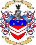Lenuzza Family Crest from Italy