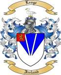 Leoge Family Crest from Ireland