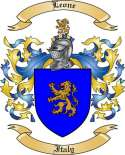 Leone Family Crest from Italy2