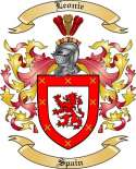 Leonie Family Crest from Spain