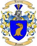 Leprou Family Crest from France