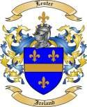 Lester Family Coat of Arms from Ireland