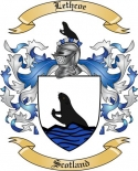 Lethcoe Family Crest from Scotland