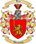 Leu Family Coat of Arms from Germany2