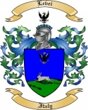 Levei Family Crest from Italy