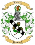 Levere Family Crest from Scotland