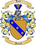 Levi Family Crest from Israel