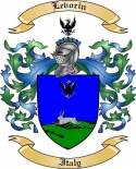 Levorin Family Crest from Italy