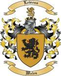 Lewess Family Crest from Wales2