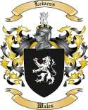 Lewess Family Crest from Wales