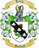 Lewin Family Crest from Scotland
