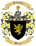 Lewwis Family Crest from Wales