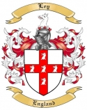Ley Family Crest from England2