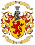Ley Family Crest from England