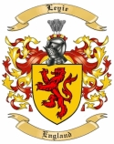 Leyie Family Coat of Arms from England