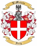 LiMatola Family Coat of Arms from Italy
