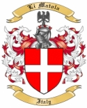 Li Matola Family Coat of Arms from Italy