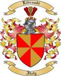 Librandi Family Crest from Italy