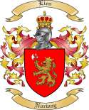 Lien Family Crest from Norway