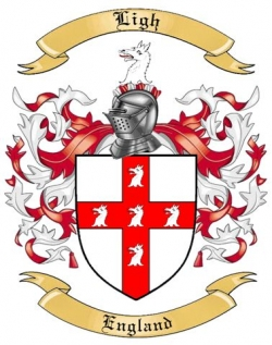 Ligh Family Coat of Arms from England2